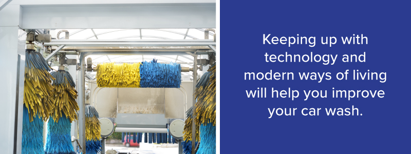 Modern Technology Improves Your Car Wash
