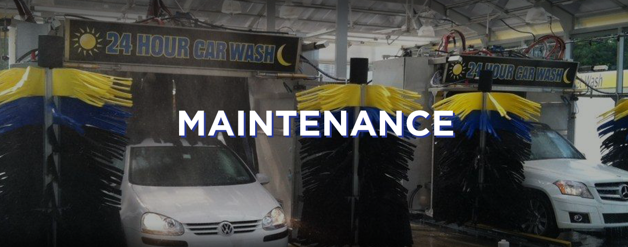car wash maintenance