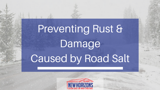 How to prevent and treat rust and damage caused by road salt