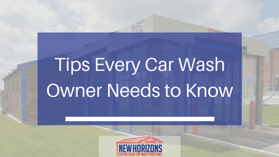 Tips every car wash business owner should know